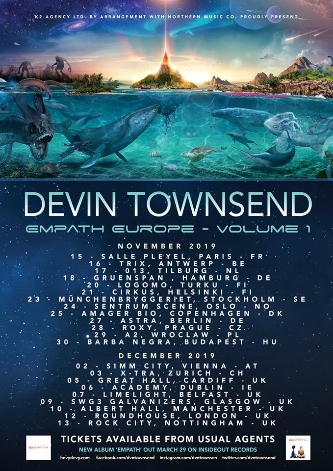 Devin Townsend Official Website | HevyDevy com